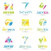 ikony pro číslo 7