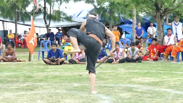 SURATTHANI THAILAND  thai sword fighting