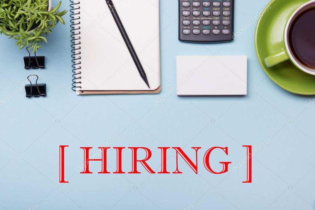 Headhunting Hiring Hr Human Resources Position Concept Office