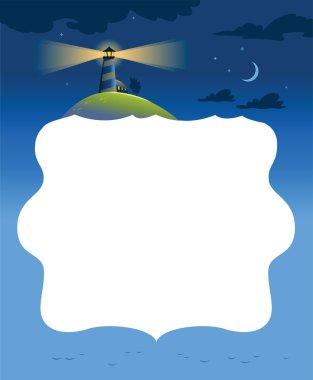 Illustration of lighthouse