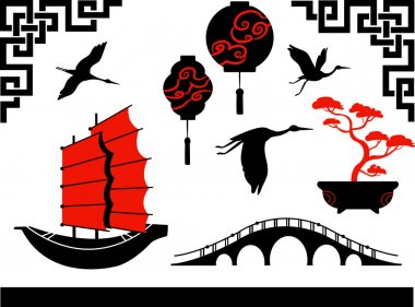 Set of chines symbols