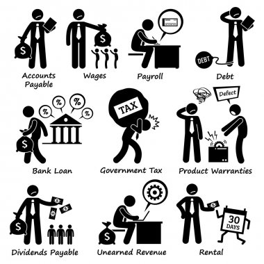 Company Business Liability Pictogram
