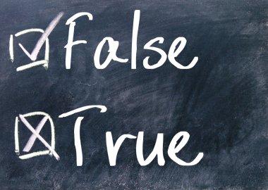 true or false judge