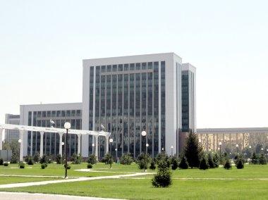 Tashkent building of the Ministry of Finance 2007