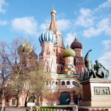 Moscow the Cathedral of Saint Basil the Blessed 2011