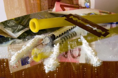 Cocaine: tools for intravenous abuse