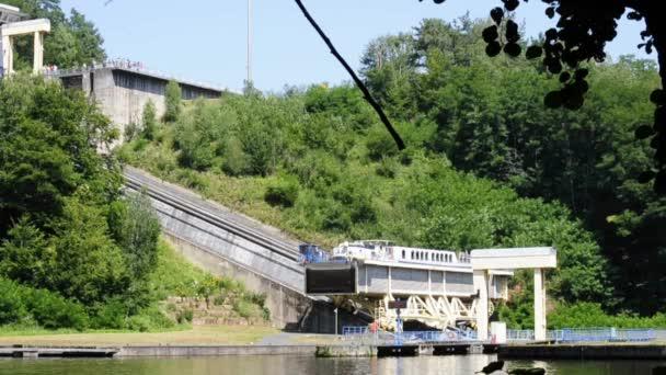 Saint-Louis -Arzviller, France, ship-lift Rhine-Marne channel