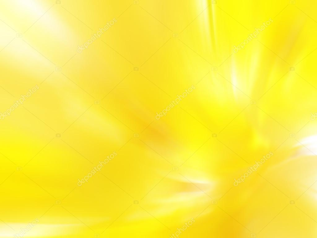 Abstract Light Yellow Flowers Blurred Image Background Stock