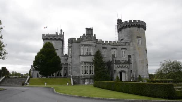 berühmte irische öffentliche Burgattraktion, dromoland, county clare, irland