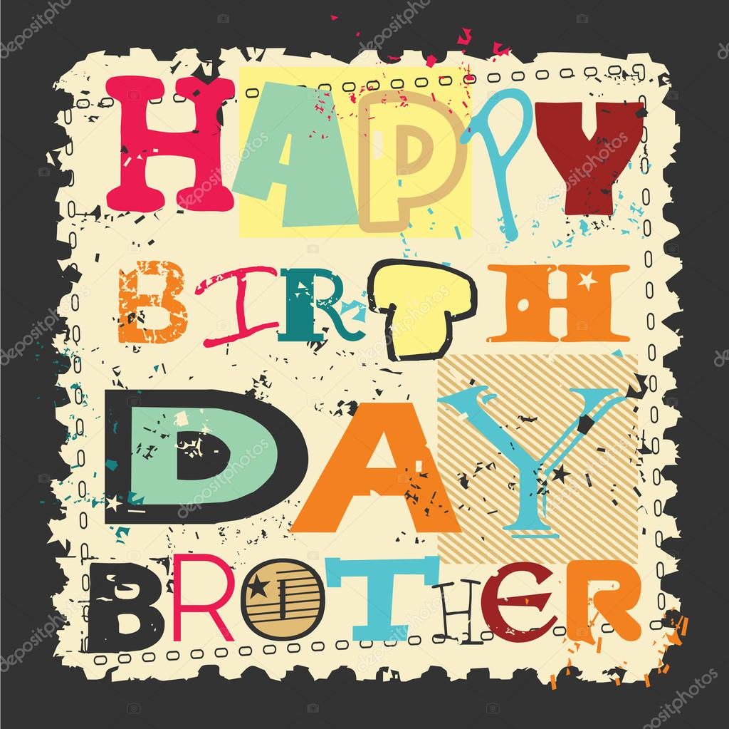 Áˆ Happy Birthday Brother Stock Pictures Royalty Free Happy Birthday Bro Images Download On Depositphotos