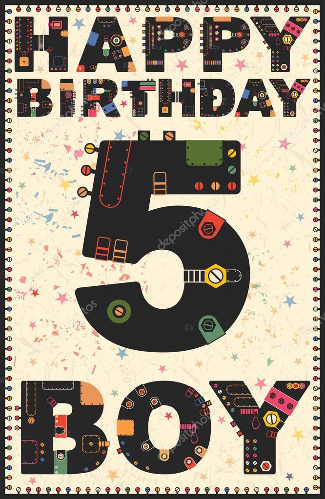 7d8ee61794813f Verjaardag Jongen 5 Jaar | Verjaardag
