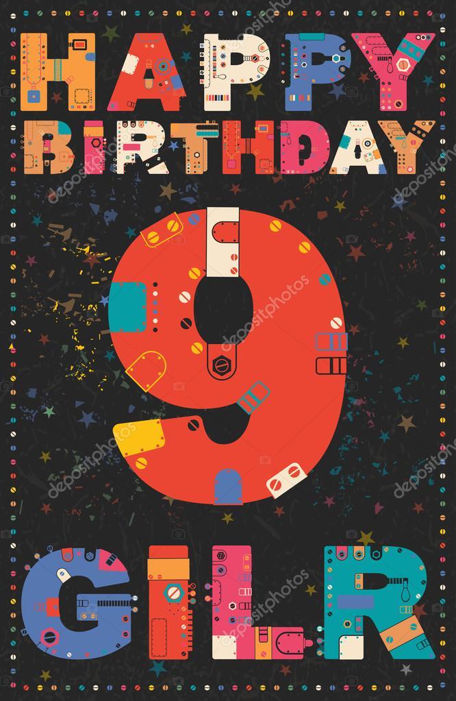 Verjaardag 9 Jaar