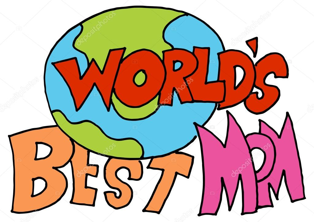 World's Best Mom Message Stock Vector © Cteconsulting 60 Fascinating World Best Mom Picture Download