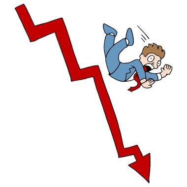 Falling Stock Market