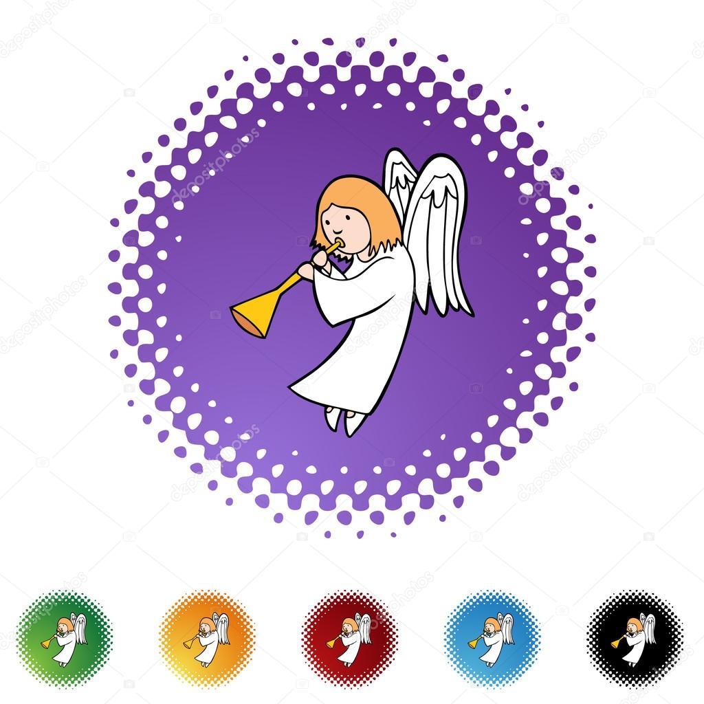 размытия картинка ангела из значков корзинка