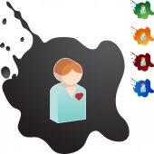 Srdce pacienta web ikony