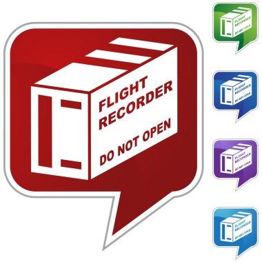 Flight Recorder icon button