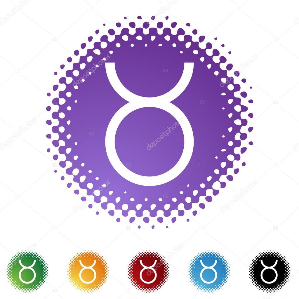 Taurus Zodiac Symbol Stock Vector Cteconsulting 64158409