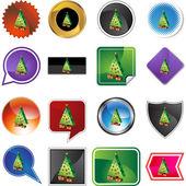 Ikona webové vánoční stromeček