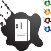 Tlačítko web lednice