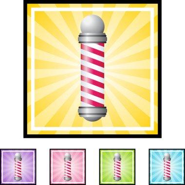 Barbershop Pole web icon