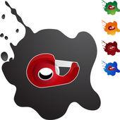 Ikona webové pásky dávkovač