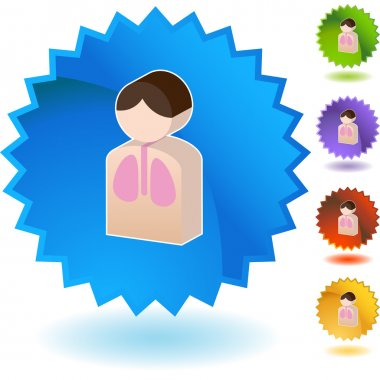 Lung Patient web icon