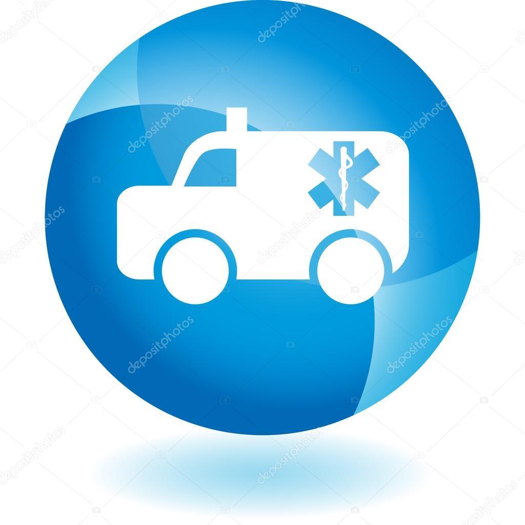 Icono de la web de paramédicos — Archivo Imágenes