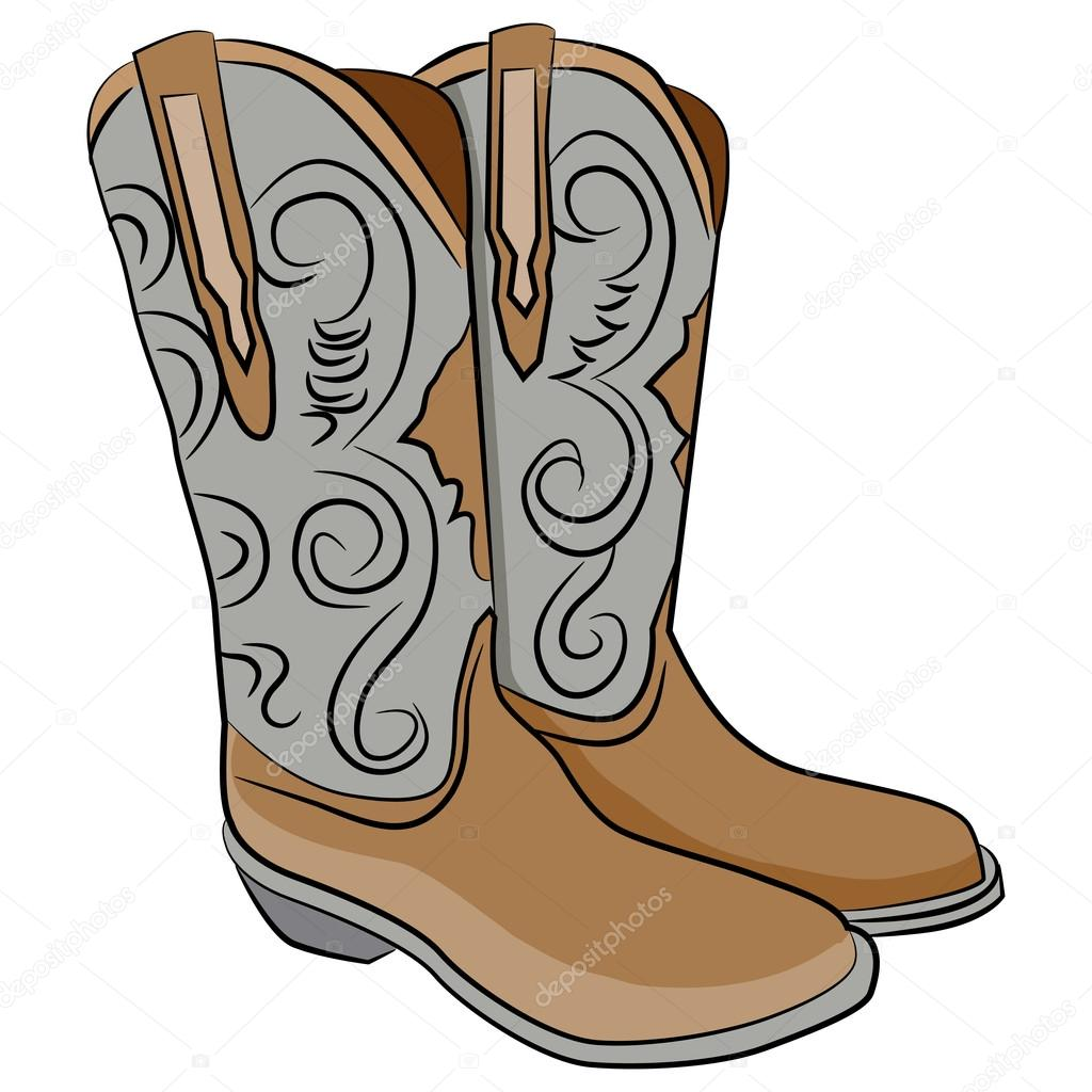 cowboy boots cartoon stock vector cteconsulting 73693627 rh depositphotos com cartoon pictures of cowboy boots and hats cartoon cowboy boots pictures