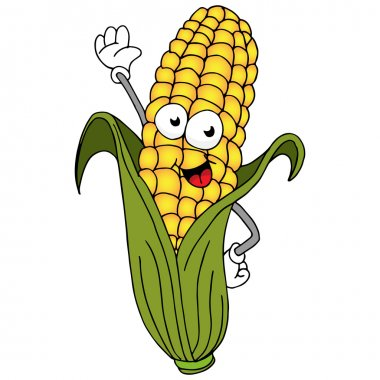 Corn On The Cob Character