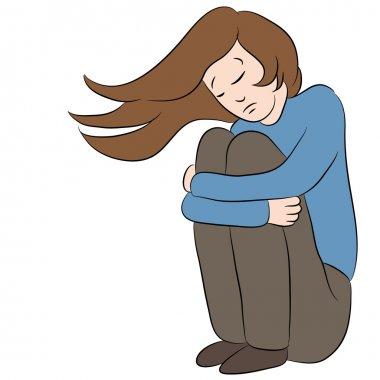 Depressed Sad Woman