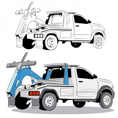 Tow Truck Illustration Premium Vector Download For Commercial Use Format Eps Cdr Ai Svg Vector Illustration Graphic Art Design
