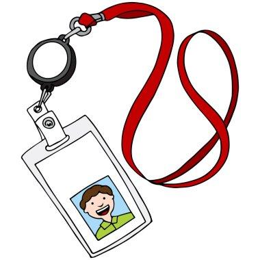 Lanyard ID Badge