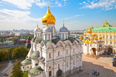 Cathedral Square of the Moscow Kremlin, Russia