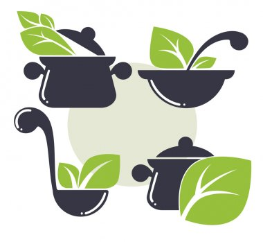 cooking equipment and healthy organic food