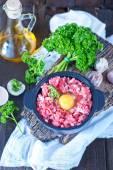 Mleté maso a Syrová vejce