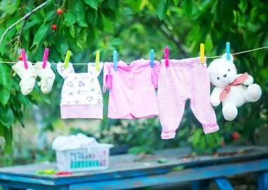 baby clothes, clear baby linnen