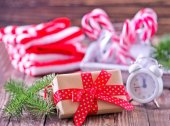 vánoční dárky a cukroví