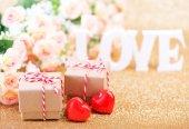 Fotografie Den svatého Valentýna koncept