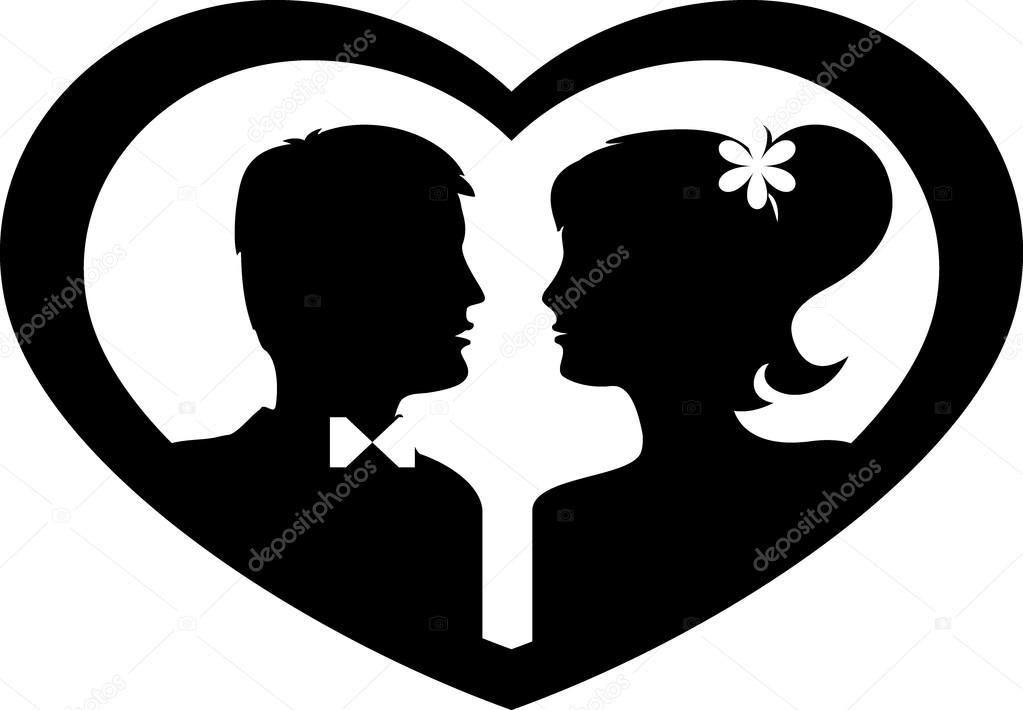 siluetas de novios negro sobre fondo blanco vector de indian bride and groom cartoon images bride and groom cartoon images free
