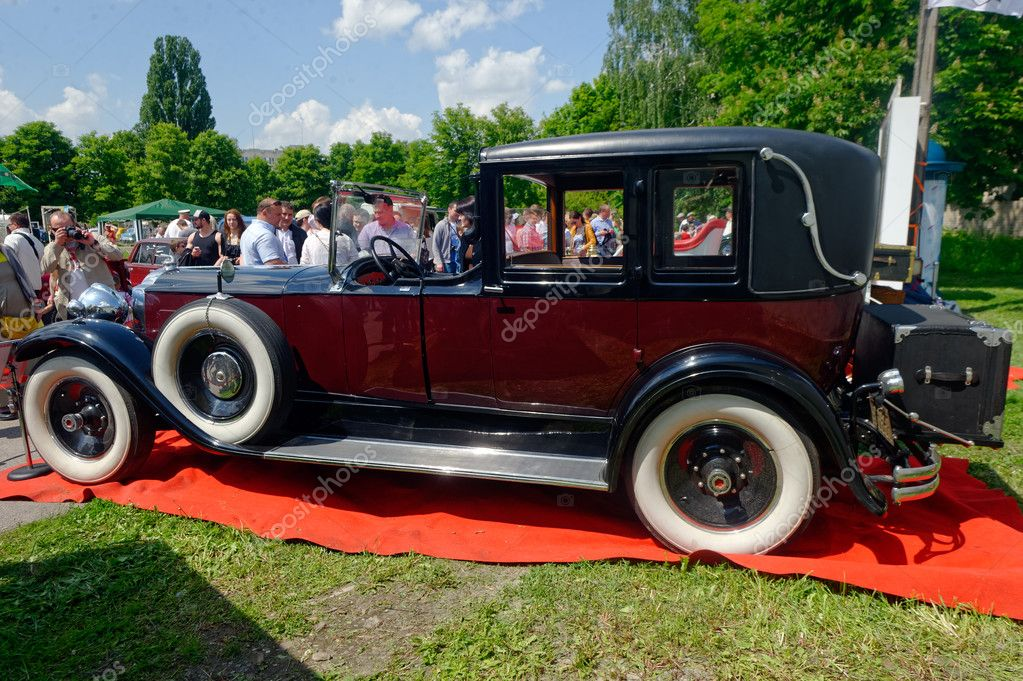 Packard Single Eight 143 Vintage Car Stock Image Stock