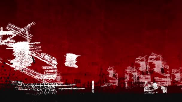 městské pozadí animace