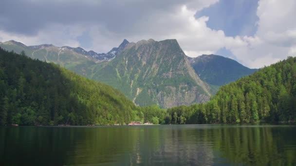 lake in Austrian Alps