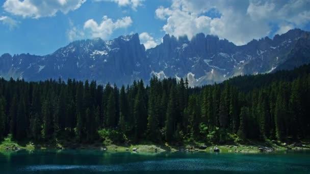 gyorsított alpesi tó