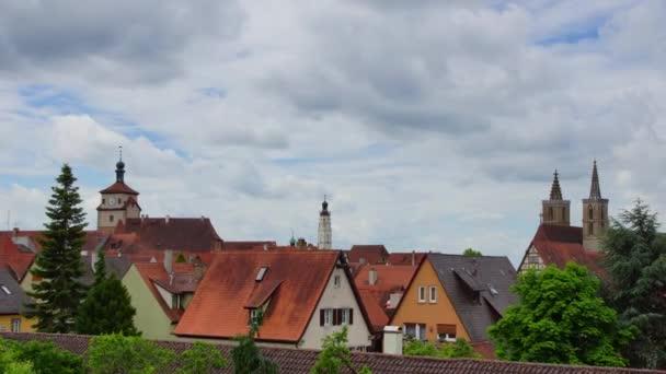 Rote Dächer von Rothenburg auf der Tauber