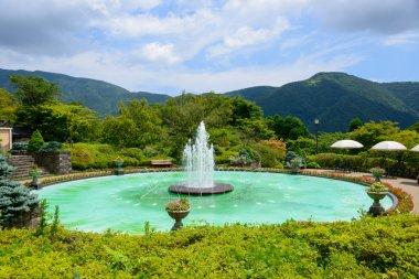 Fountain of Gora Park in Hakone, Kanagawa, Japan