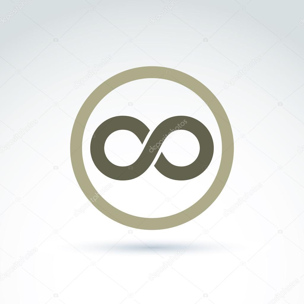 Eternity symbol icon stock vector ostapius 109401482 eternity symbol icon stock vector biocorpaavc Gallery
