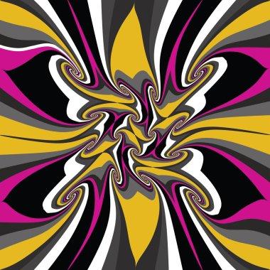 Colorful striped fabulous mix background, elegant rainbow wallpa
