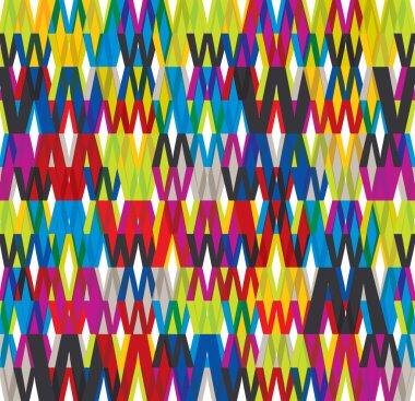 WWW seamless pattern.