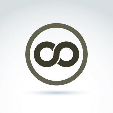 Infinity icon illustration